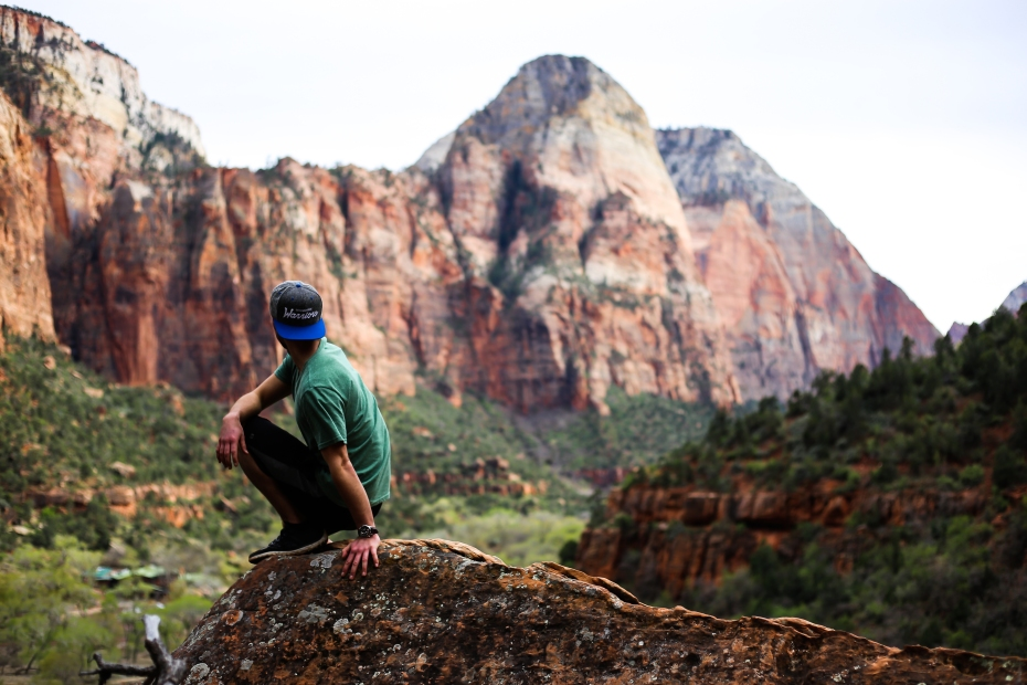 Self Portrait-Zion National Park